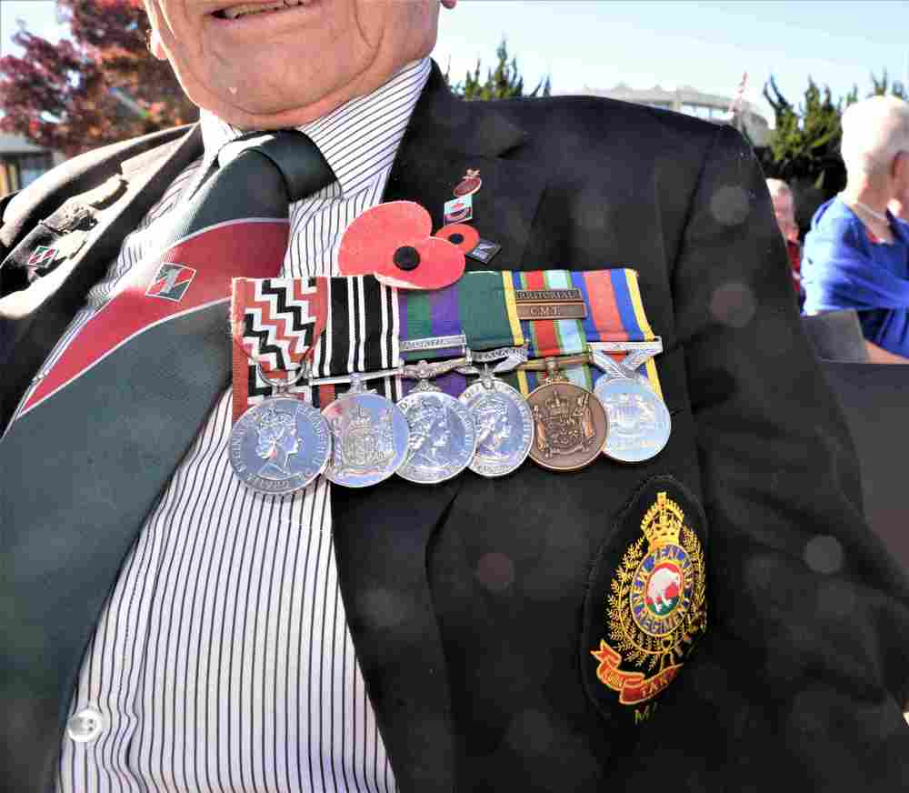Marlborough RSA is encouraging veterans to wear their medals as normal. Photo: File.